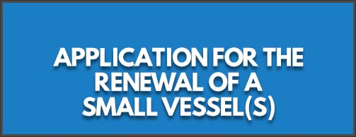 small vessel registry renewal