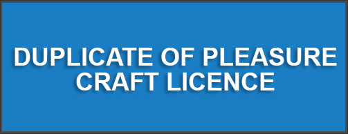 pleasure craft electronic licensing system